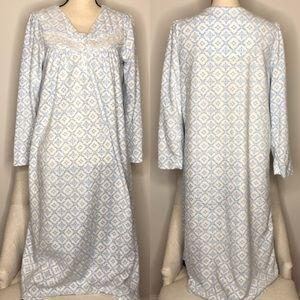 💥 Aria Blue & White Nightgown Sz S